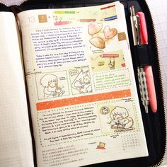 """""""my hobonichi cousin arrived!! im sadly ditching my bullet journal but im excited to see where this goes ✨ #hobonichicousin #hobonichi #bulletjournal…"""""""