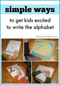 Creative ways to write a letter?