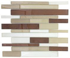 Mineral Tiles - Glass Backsplash Tile San Francisco Brick, $16.50 (http://www.mineraltiles.com/glass-backsplash-tile-san-francisco-brick/)