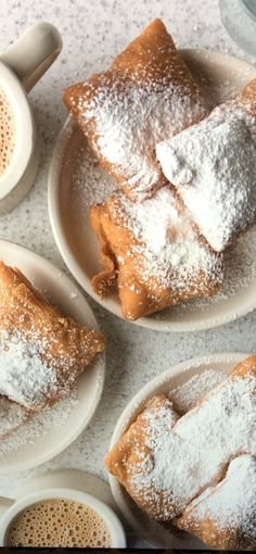 Beignets, French Toast, Breakfast, Food, Morning Coffee, Essen, Meals, Yemek, Fritters