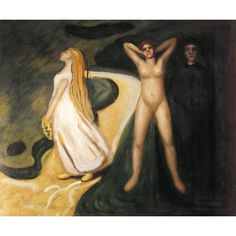 Munch - Woman in Three Stages Oil Painting for sale on overArts.com