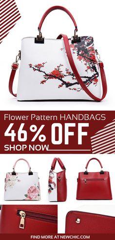 67bbd9302cc6 Women Flower Pattern National Style Shoulder Bag Handbag Crossbody Bags   vintage  flowerpattern  stylish