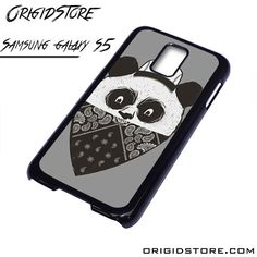 Bad Panda Having Mask Case For Samsung Galaxy S5 Case
