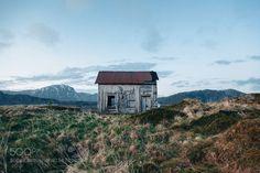 H O U S E S by arnaudmoro  sky mountains travel island house architecture summer norway abandoned islands lofoten norvege nordl