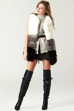 Triple Luck Faux Fur Vest - Faux Fur - Jackets/Coats - Clothing Discover the latest fashion trends online at storets.com