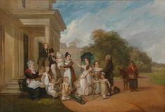 "William Frederick Witherington (1785-1865)-Attrib. ""English Family"", 1810s"