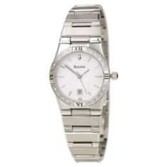 Bulova Women's Diamond Sport Dress Watch 96R009