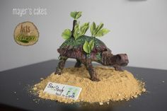 Acts of Green Collaboration - Cake by Mayer Rosales World Earth Day, Turtle Cakes, Sculpted Cakes, Awesome Cakes, Edible Art, Cake Art, Daily Inspiration, Cake Ideas, Collaboration