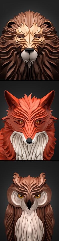 inspirations graphics illustration Maxim Shkret | Predators
