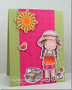 Summer Lovin' Catered Crop Recipe Swap with Birdie Brown stamps from My Favorite Things - Tammy Hershberger