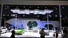 大众2014年B/C级车展设计 on Behance