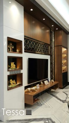 Living Room Partition Design, Living Room Tv Unit Designs, Room Partition Designs, Tv Unit Furniture Design, Tv Unit Interior Design, Bedroom Furniture, Living Room Decor Brown Couch, Living Room Tv Cabinet, Living Rooms