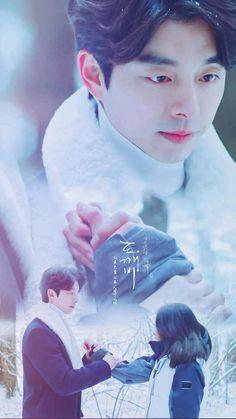 Goblin Korean Drama, Korean Drama Best, Korean Drama Quotes, Korean Dramas, Goblin Kdrama Fanart, Gong Yoo Goblin Wallpaper, Ost Goblin, Goblin Art, Goblin Lockscreen