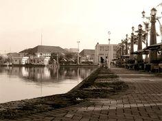 Imagen del puerto de Semarang.Riza Nugraha