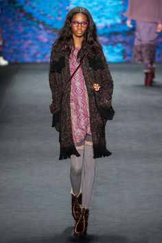 Anna Sui at New York Fashion Week Fall 2015 - StyleBistro