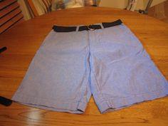 Men's Tommy Hilfiger shorts 40 NEW NWT 7815964 491 blue belt casual TH RARE #TommyHilfiger #shorts