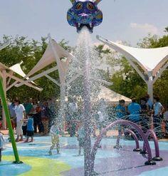 El alebrije del parque acuático en Animaya, Mérida Yucatán