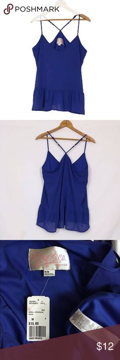 🆕 RORY BECA forever 21 chiffon ruffled tank top RORY BECA for forever 21 chiffon ruffled tank top. New, unworn condition; tags attached. Adjustable crossover straps.      Polyester.    bust 38 length 26.5 Forever 21 Tops Tank Tops