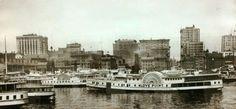 Baltimore skyline 1910