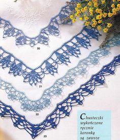 Bordures au crochet                                                                                                                                                      Plus