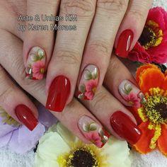 Lindas Acrylic Nail Art, Perfect Nails, Nail Arts, Summer Nails, Pedicure, Nail Colors, Make Up, Hair Beauty, Engagement