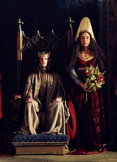 Tom Sturridge & Sophie Okonedo in 'The Hollow Crown: Henry VI' (2016)