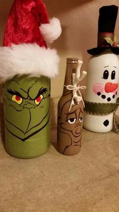 Grinchy Bottles