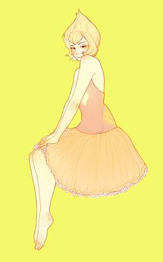 pearl the yellow