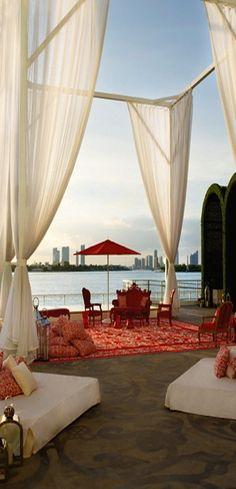 Mondrian Sunset Lounge SOBE   cynthia reccord   #miami #southbeach