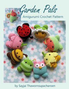 Garden Pals Amigurumi Crochet Pattern (Easy Crochet Doll Patterns Book 10)