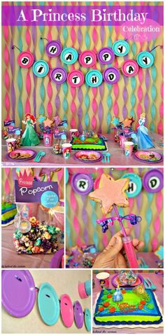 Disney princess birthday party ideas #dreamparty #shop #cbias....banner