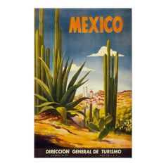#Vintage Mexico #Travel Posters