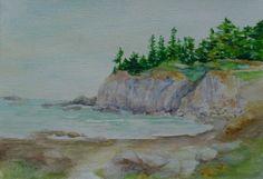 rocky Ocean Canvas, Painting, Art, Art Background, Painting Art, Kunst, Paintings, Performing Arts, Painted Canvas