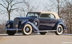 1939 Lincoln Model K Convertible Victoria by Brunn