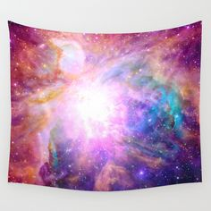 Buy Galaxy Nebula by Matt Borchert as a high quality Wall Tapestry. Worldwide shipping available at Society6.com. Just one of millions of products available.