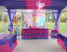 "Disney Princess / Birthday ""Allie's 3rd Birthday"" 