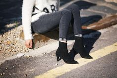 Made To Order Black Lined Nubuck Suede Genuine Leather Boots Bootie Heels Heel
