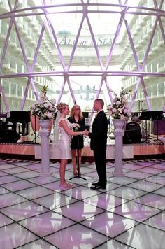Allure of the Seas makes a beautiful #wedding venue #RoyalCaribbean  Royal is Loyal to you...  Why not book a cruise on this wonderful ship! Let C2C Travels help make your dreams reality! http://2744.mtravel.com/ or info@c2ctravels.com #RoyalWeddings