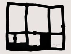 Eduardo Chillida. Zedatu IV, 1991 Abstract Words, Printmaking, Contemporary Art, Projects To Try, Etchings, Black And White, Cut Outs, Drawings, Prints