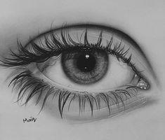 Realistic eye, realistic pencil drawings, my drawings, beautiful drawings, Realistic Pencil Drawings, Art Drawings Sketches Simple, Pencil Art Drawings, Pencil Sketching, Beautiful Drawings, Eye Drawing Tutorials, Eye Sketch, Eye Photography, Eye Art