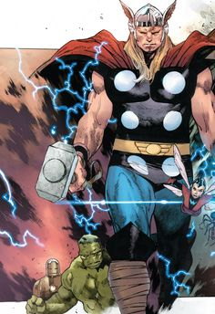 Thor Odinson by Olivier Coipel
