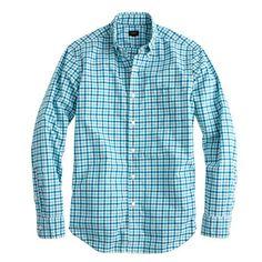 J.Crew - Slim Secret Wash shirt in small check