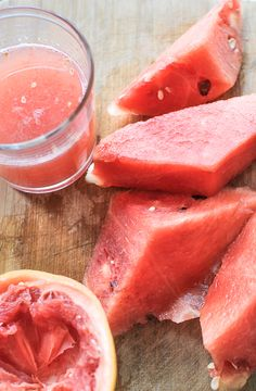 Post image for Healthy Kick: Watermelon and Grapefruit Detox Drink