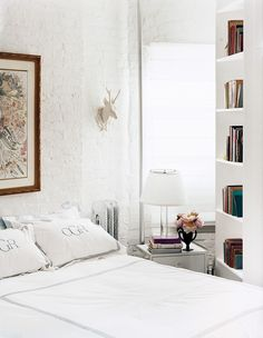 Beauty in a small bedroom | domino.com