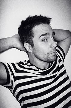 Sam Rockwell... Sam Rockwell, what are you doing?... Sam Rockwell, why are you becoming more and more attractive with every passing day?... Sam Rockwell... STAAHP!!!