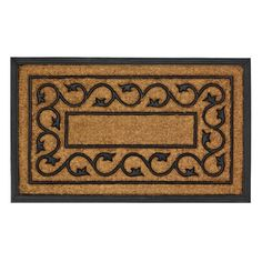 Ivy Door Mat  Entry Carpet Outdoor Floor Area Rug All Weather Vines Nature Decor #HomeLocomotion