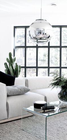decoração atual com plantas
