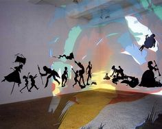 "Kara Walker, ""Darkytown Rebellion,"" 2001."