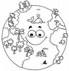Top 20 Free Printable Earth Day Coloring Pages Online – Art World 20 Earth Day Coloring Pages, Space Coloring Pages, Coloring Pages To Print, Coloring Sheets, Coloring Books, Earth Day Projects, Earth Day Crafts, Art Projects, Earth Day Activities