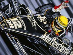 John Player Special - Ayrton Senna